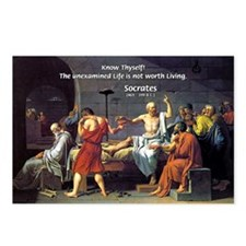 Know Thyself Socrates Quote Postcards (Package of