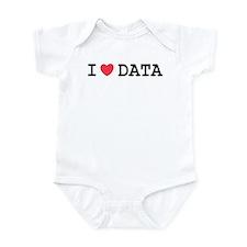 I Heart Data Infant Bodysuit