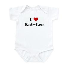 I Love Kai-Lee Infant Bodysuit