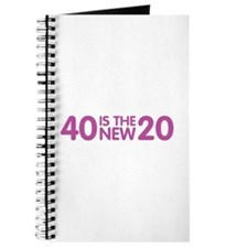 40 Is The New 20 Journal