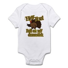 Pull on my Drumstick Infant Bodysuit