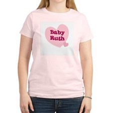 Baby Ruth Women's Pink T-Shirt