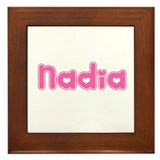 """Nadia"" Framed Tile"