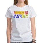 Easy Snowmobiling Women's T-Shirt
