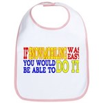 Easy Snowmobiling Bib