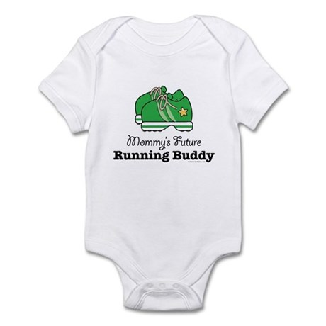 Mommy's Future Running Buddy Infant Bodysuit