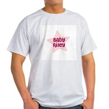 Baby Riley Ash Grey T-Shirt
