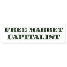 Free Market Capitalist Bumper Bumper Sticker