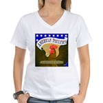 American Poultry Women's V-Neck T-Shirt