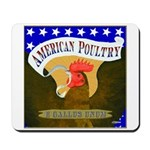American Poultry Mousepad