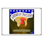 American Poultry Banner
