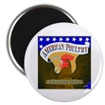 "American Poultry 2.25"" Magnet (10 pack)"