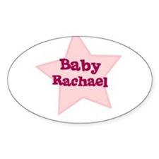 Baby Rachael Oval Decal