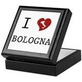 I Love Bologna Keepsake Box