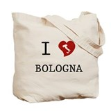 I Love Bologna Tote Bag