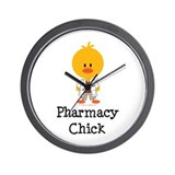 Pharmacy Chick Wall Clock