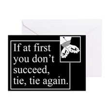 Tie Tie Again Greeting Cards (Pk of 20)