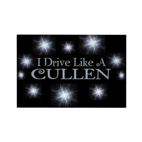 I drive like a Cullen magnet