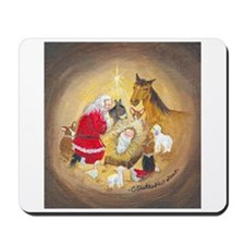 Away in a Manger Mousepad