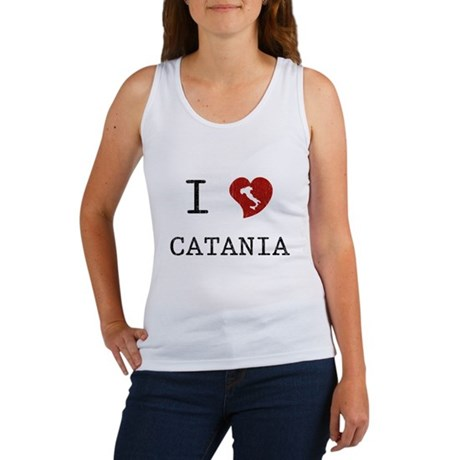 I Love Catania Women's Tank Top