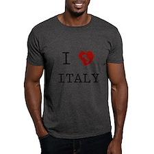 I Love Italy Vintage T-Shirt