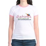 Happy Bird Euphoria Jr. Ringer T-Shirt