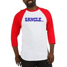 Sangle Blue Men's Shirt Blue Baseball Jersey