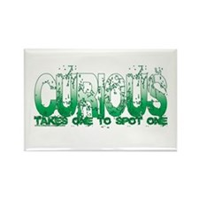 NEW!! Curious Rectangle Magnet