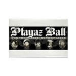 Playaz Wear Rectangle Magnet