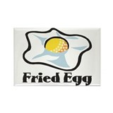 Fried Egg Rectangle Magnet (100 pack)