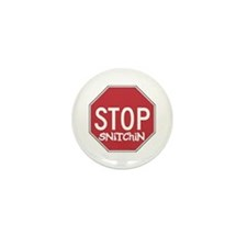 STOP SNITCHING Mini Button (10 pack)