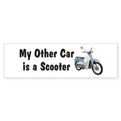 Just Gotta Scoot Symba Bumper Sticker