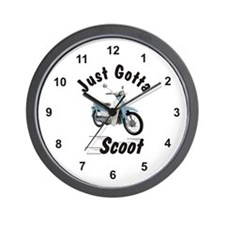 Just Gotta Scoot Symba Wall Clock