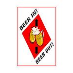 Beer Mini Poster Print