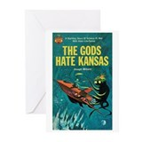 "Greeting (10)-""The Gods Hate Kansas"""