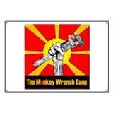 The Monkey Wrench Gang Banner