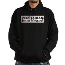 Unique Vegetarian shopping Hoodie