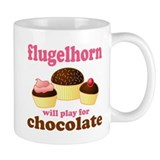 Funny Chocolate Flugelhorn Small Mug
