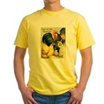 Year Of The Rooster2 Yellow T-Shirt