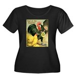 Year Of The Rooster2 Women's Plus Size Scoop Neck