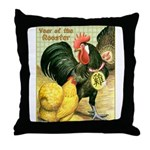 Year Of The Rooster2 Throw Pillow