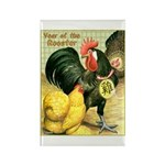 Year Of The Rooster2 Rectangle Magnet (100 pack)