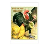 Year Of The Rooster2 Postcards (Package of 8)