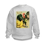 Year Of The Rooster2 Kids Sweatshirt