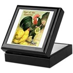 Year Of The Rooster2 Keepsake Box