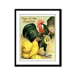 Year Of The Rooster2 Framed Panel Print