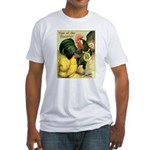 Year Of The Rooster2 Fitted T-Shirt