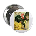 "Year Of The Rooster2 2.25"" Button (100 pack)"