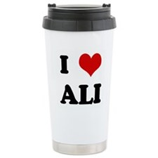 I Love ALI Ceramic Travel Mug