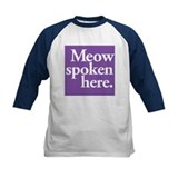 Cat Speak Tee